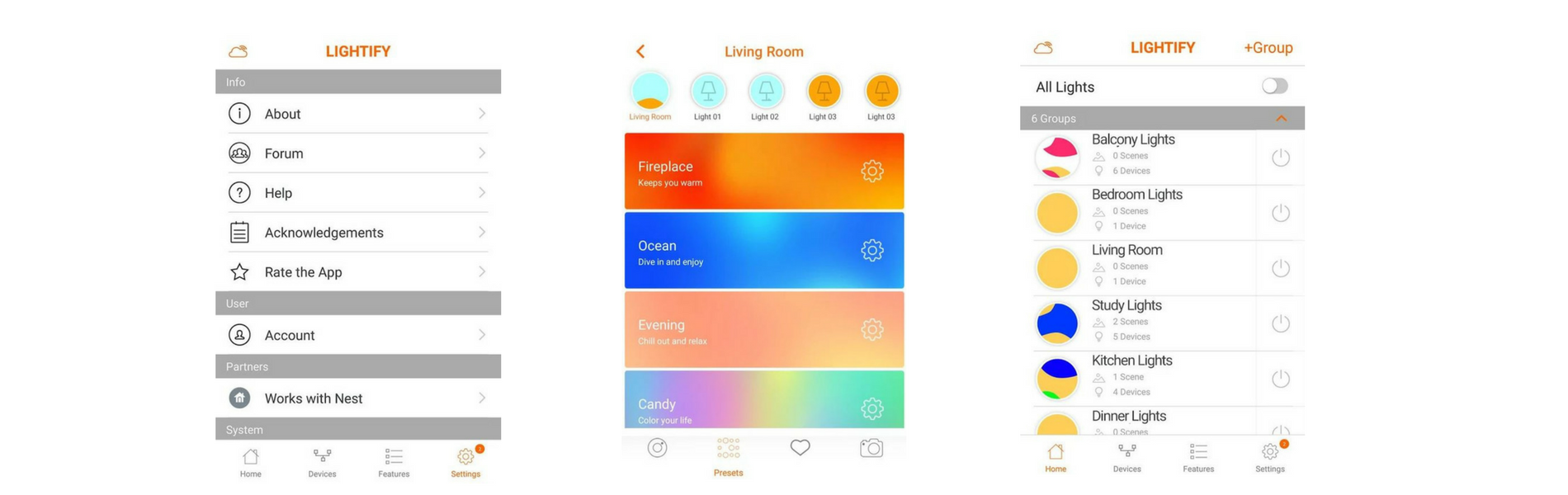 Lightify app