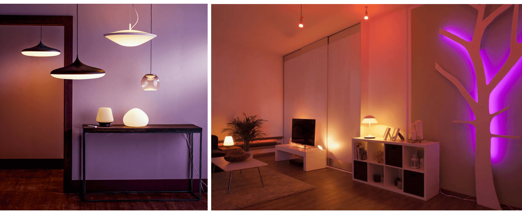 Philips hue white and ambiance lámpatestek
