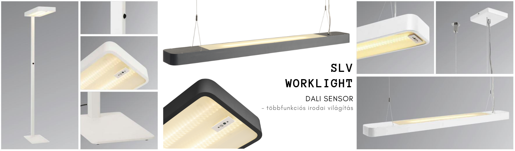 SLV Worklight dali sensor - irodai világítás