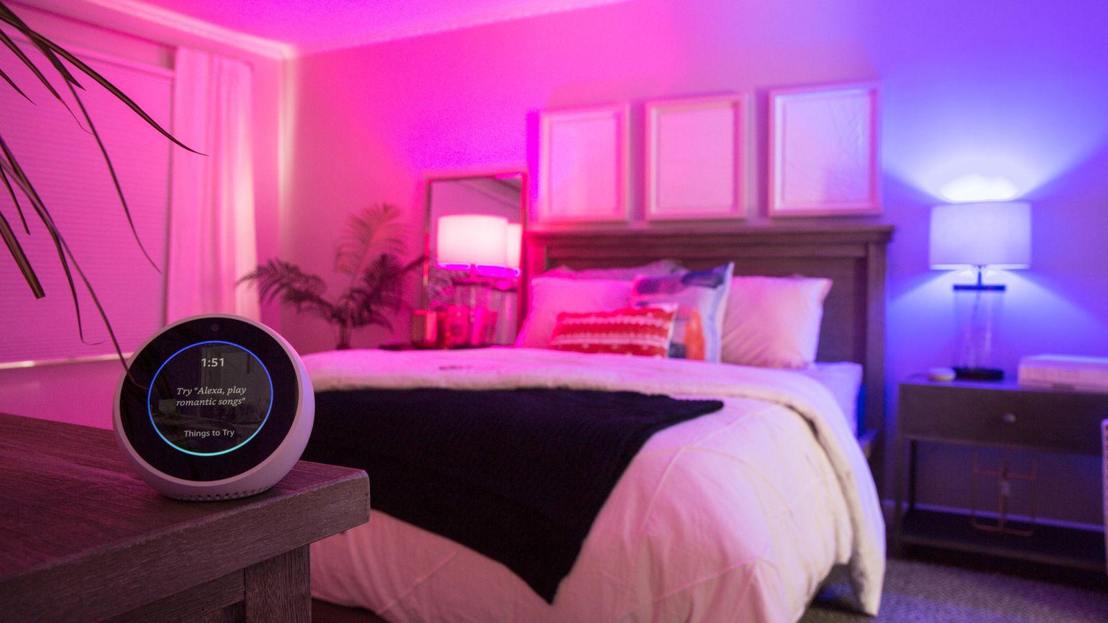 Hálószoba Smart világítással