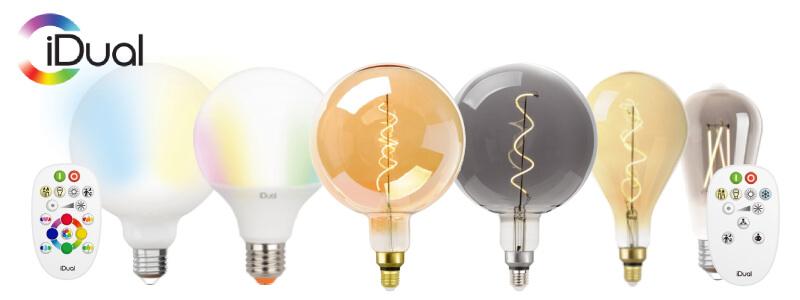 iDual LED fényforrások