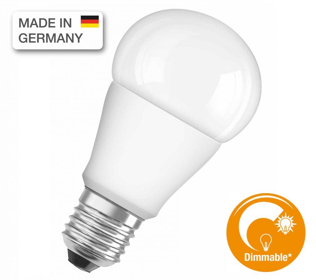 Osram fényerőszabályozható E27 LED fényforrás