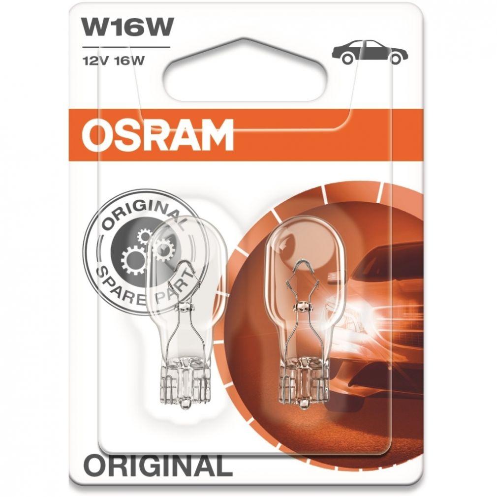 OSRAM 921-02B W16W STANDARD 16W 12V 2db/bliszter