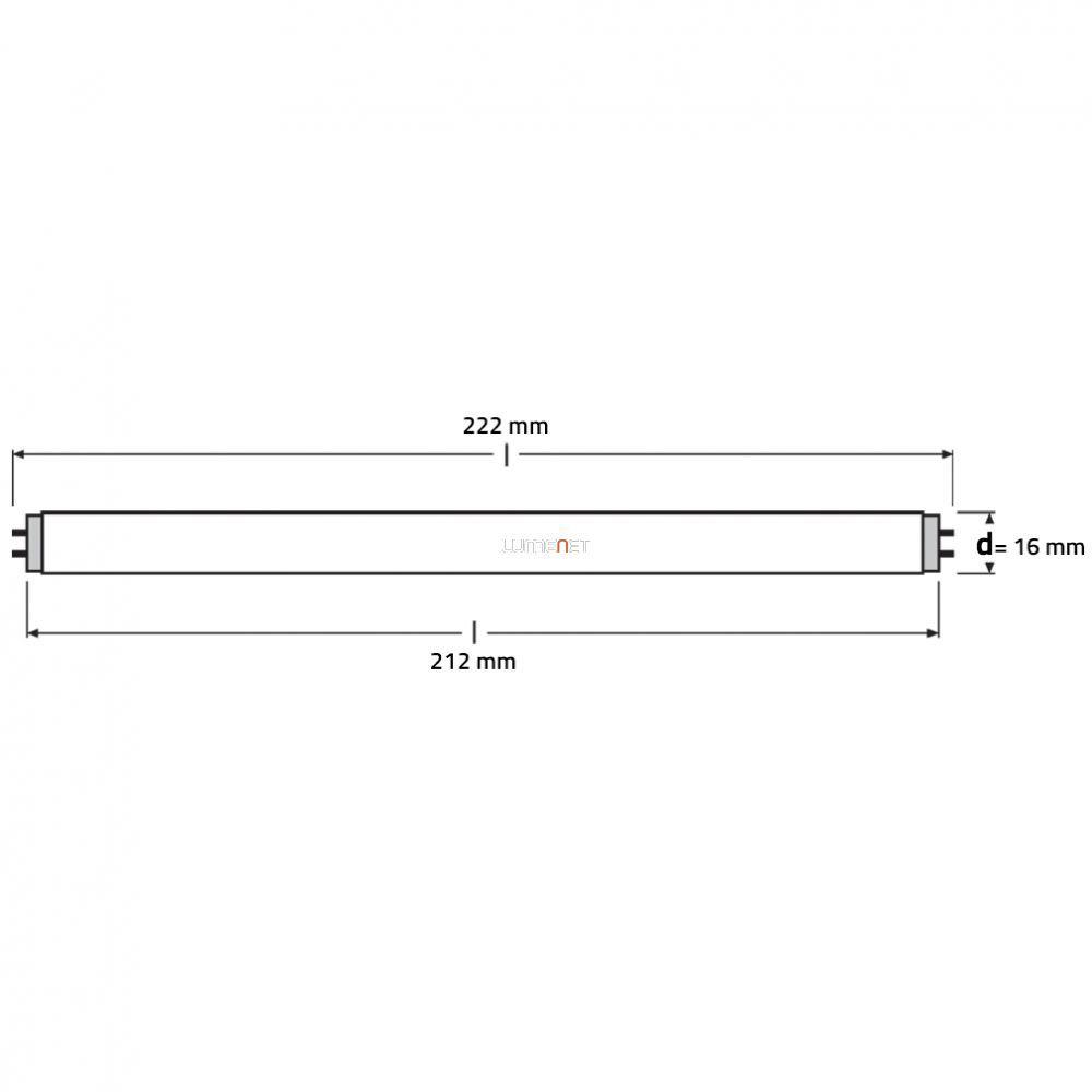 OSRAM HNS T5 6W G5 germicid fénycső