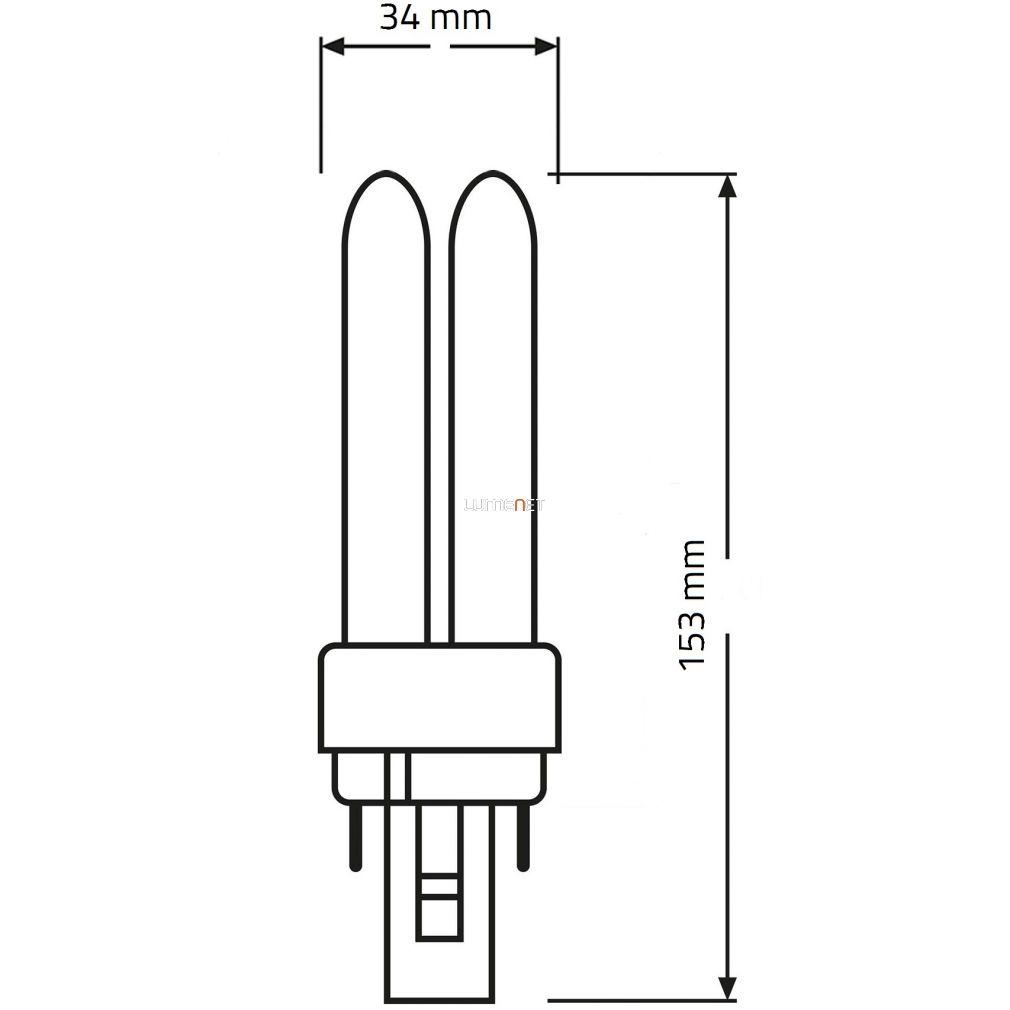 OSRAM Dulux D 18W/840 (21) G24d-2