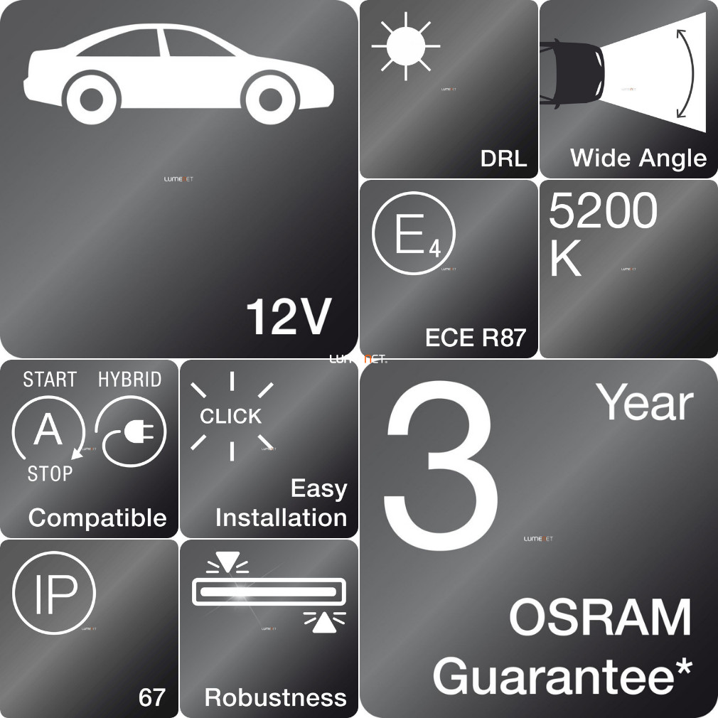 Osram LEDriving® LED DRL 301 PX-5 CL15