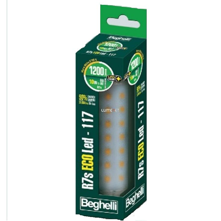 Beghelli ECOLed 10W 2700K R7s 118mm 1200lm 56114