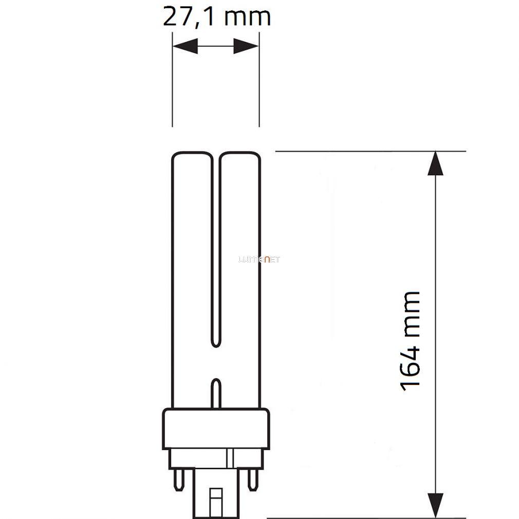 Philips MASTER PL-C 26W/840 4pin G24q-3