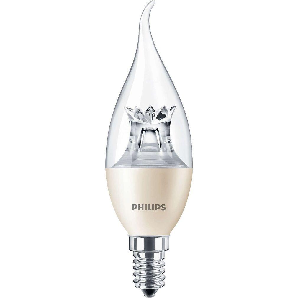 Philips Master LEDcandle DimTone E14 6W 2200-2700K BA38 CL LED - 2015/16