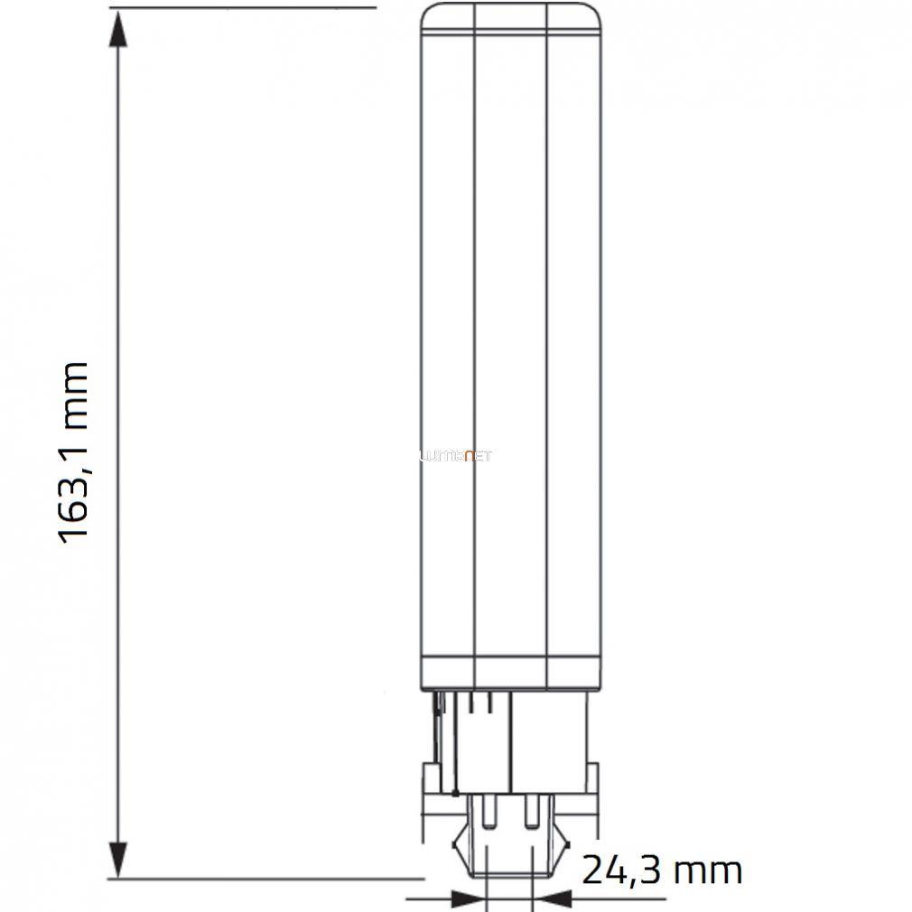 PHILIPS CorePro LED PLC 9W 840 4P G24q-3 ROT
