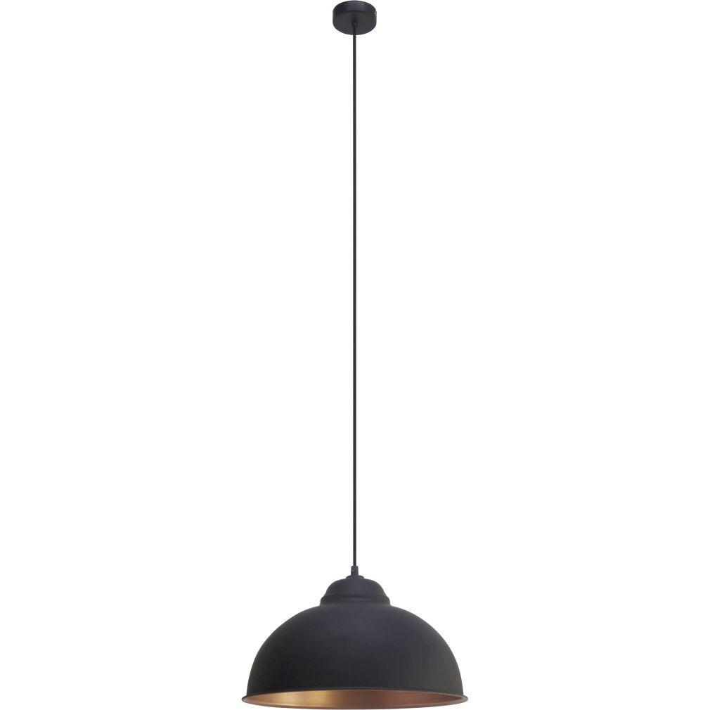 EGLO 49247 függeszték E27 60W fekete 37cm Truro 2