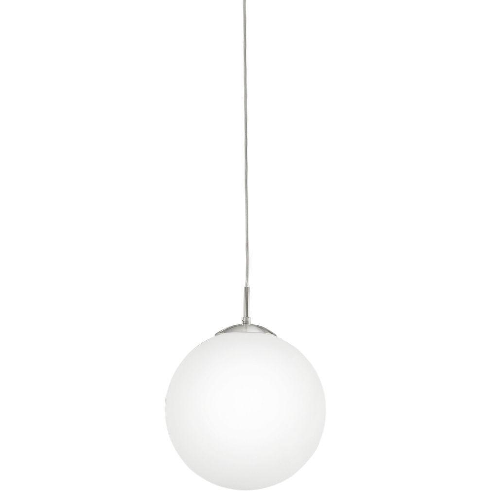 EGLO 85263 függeszték E27 1x60W átm:30cm matt nikkel/opál Rondo