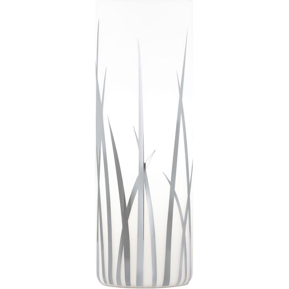 EGLO 92743 asztali E27 60W üveg/króm d:9cm m:26cm Rivato