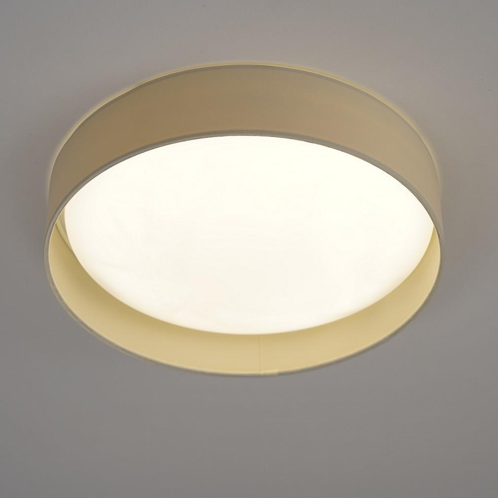 EGLO 93392 LED-es Mennyezeti lámpa 12W d:32cm műanyag fehér/textil krém Palomaro