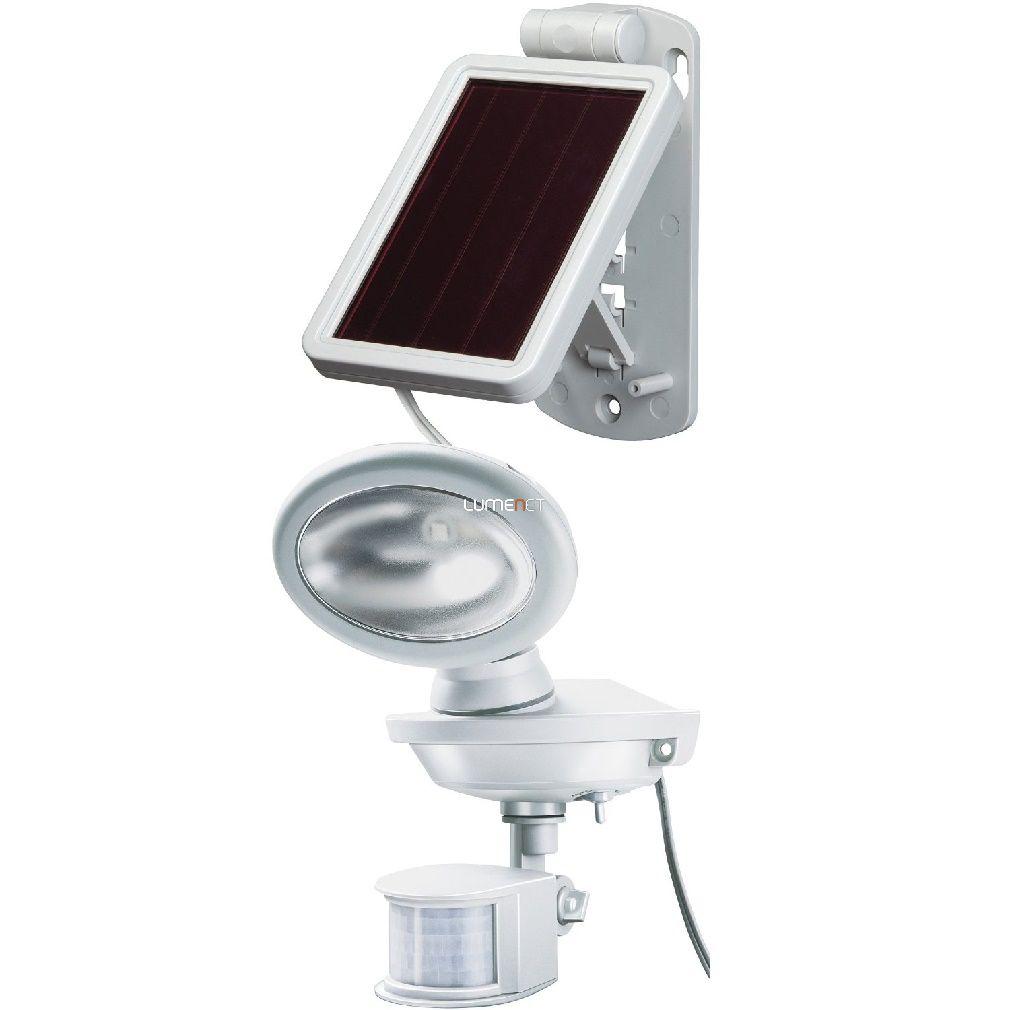 Brennenstuhl 1170880 napelemes LED falilámpa, IP44, mozgásérzékelővel 2x0,5W, 85lm, 3m kábel, szürke-fehér