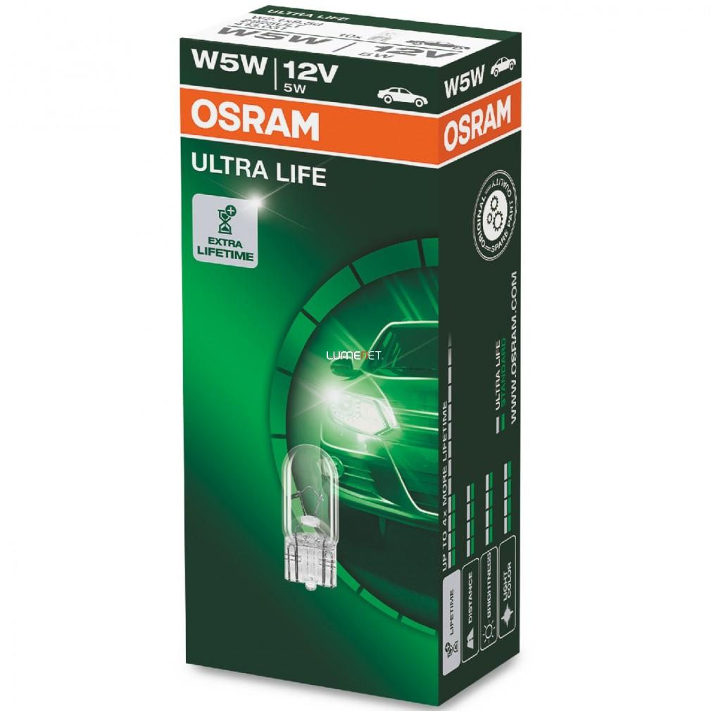 Osram Ultra Life 2825ULT W5W jelzőizzó 10db/csomag