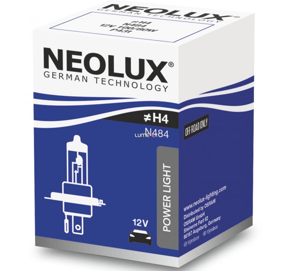 Neolux Power Rally N484 H4 12V offroad izzó 10db/csomag