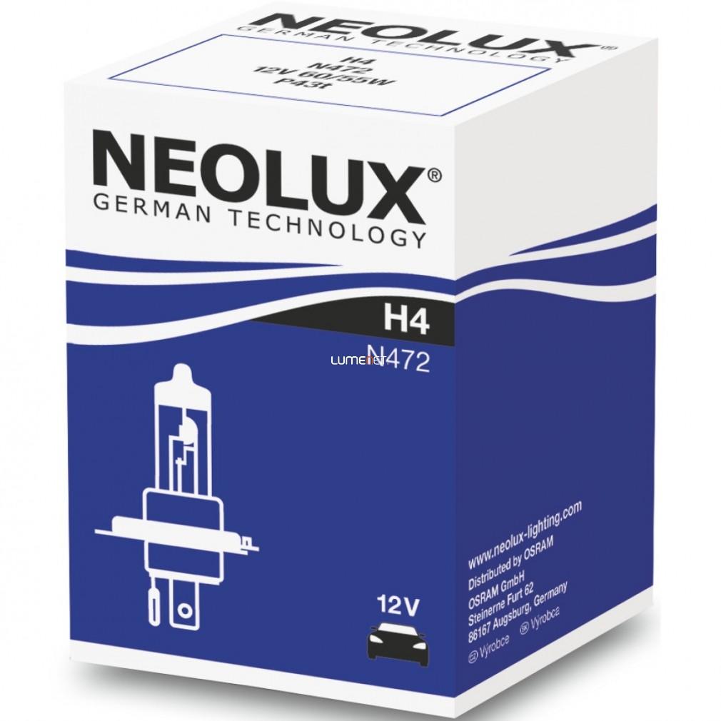 Neolux Standard N472 H4 12V 10db/csomag