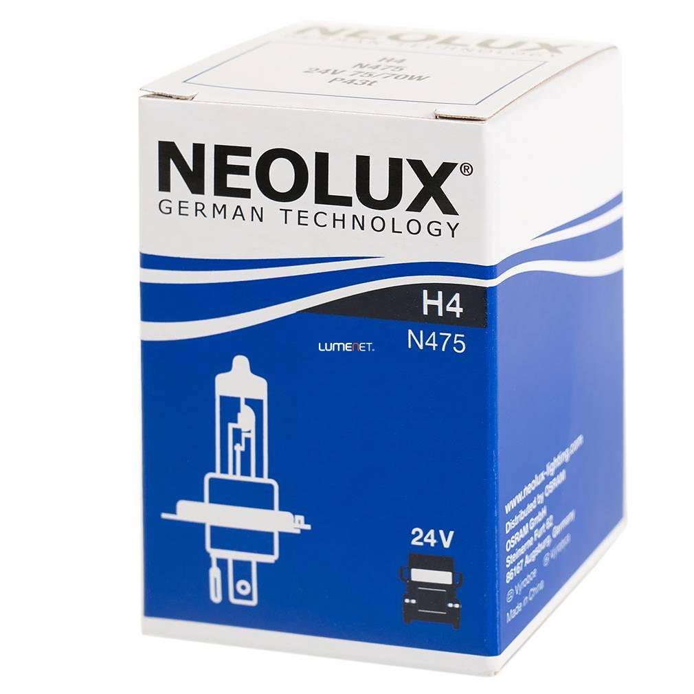 Neolux N475 H4 24V 10db/csomag