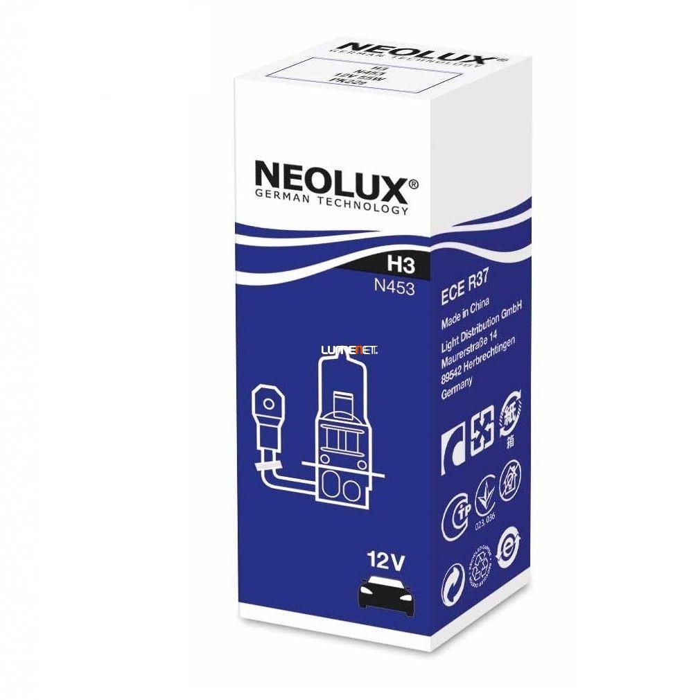 Neolux Standard N453 H3 12V 10db/csomag