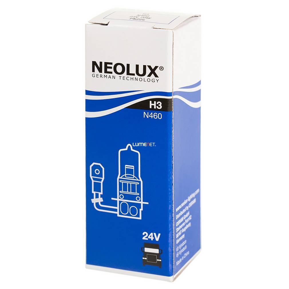 Neolux N460 H3 24V 10db/csomag