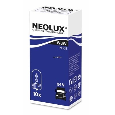 Neolux N505 W3W 24V műszerfal izzó 10db/csomag