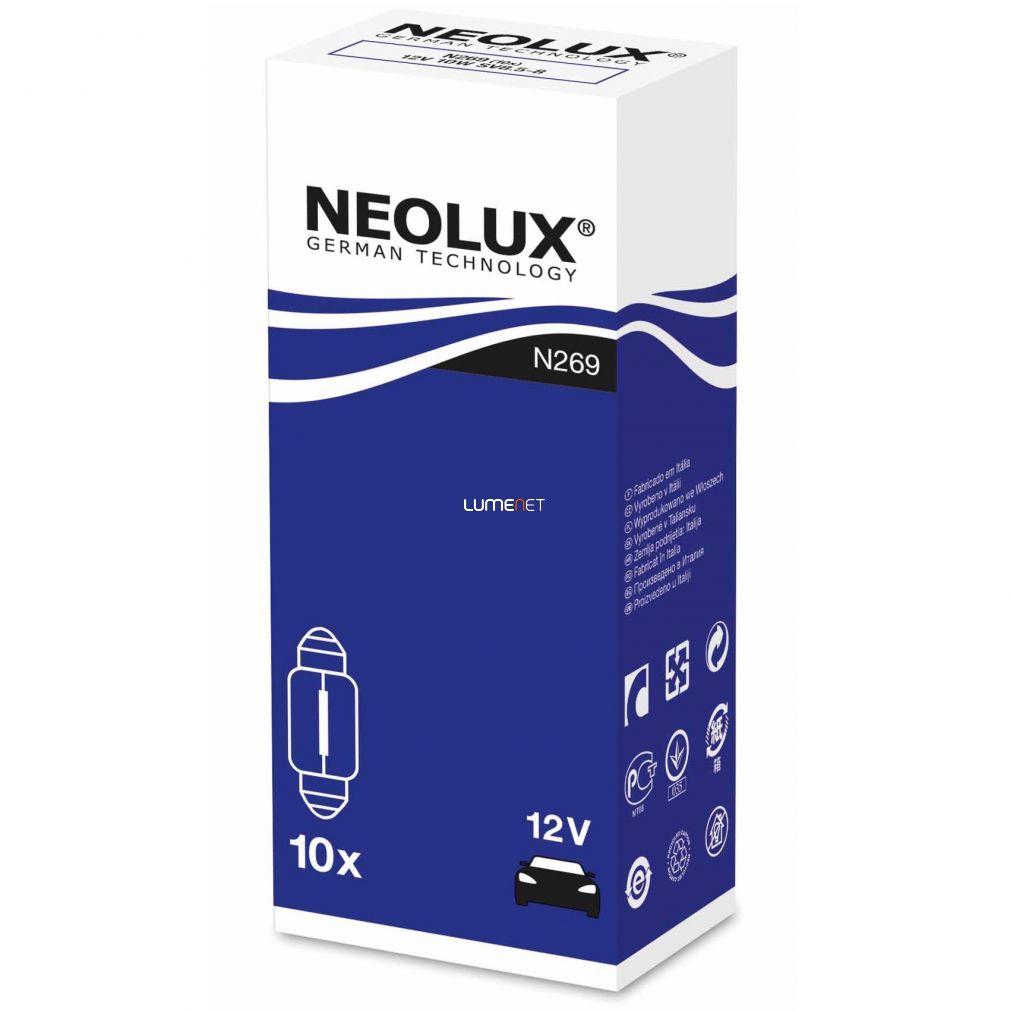 NEOLUX N269 STANDARD 10W 12V 31mm dobozos 10db/csomag