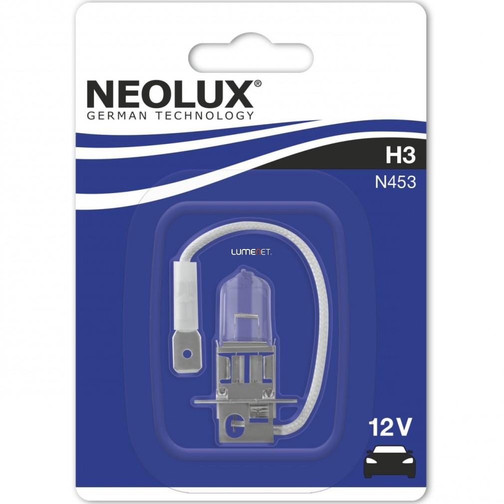 Neolux Standard N453 H3 bliszter dobozos