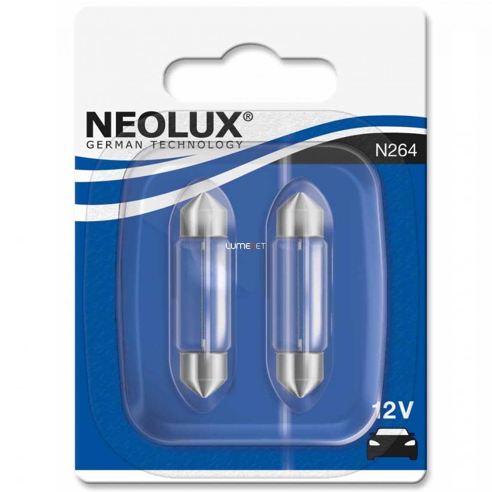 Neolux Standard N264 C10W 12V szofita 41mm 2db/bliszter