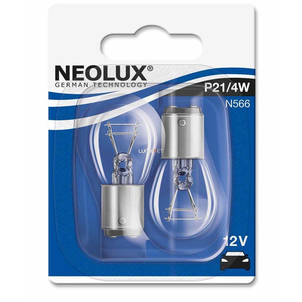 Neolux N566 P21/4W 41020W 12V BAZ15D 2db/bliszter