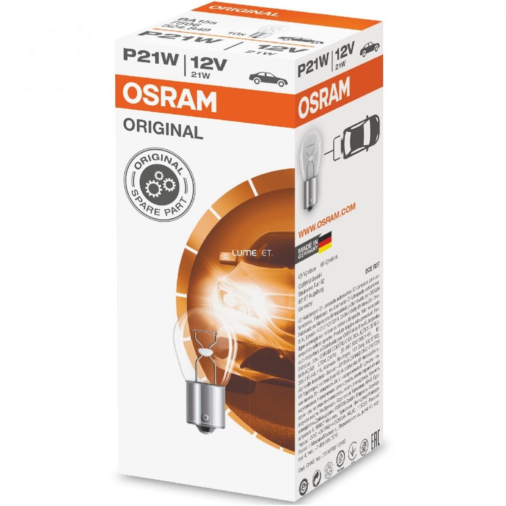 Osram Original Line 7506 P21W jelzőizzó 10db/csomag