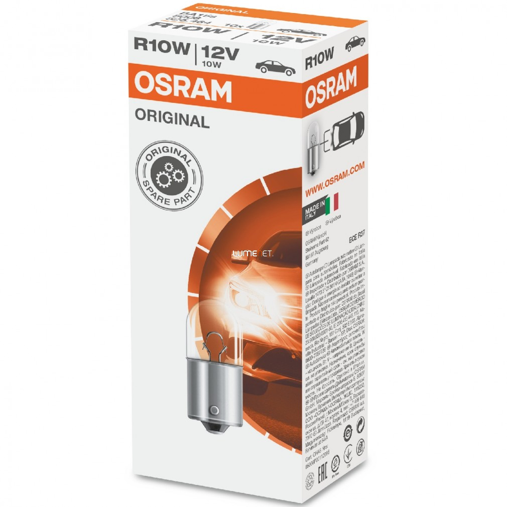 Osram Original Line 5008 R10W jelzőizzó 10db/csomag