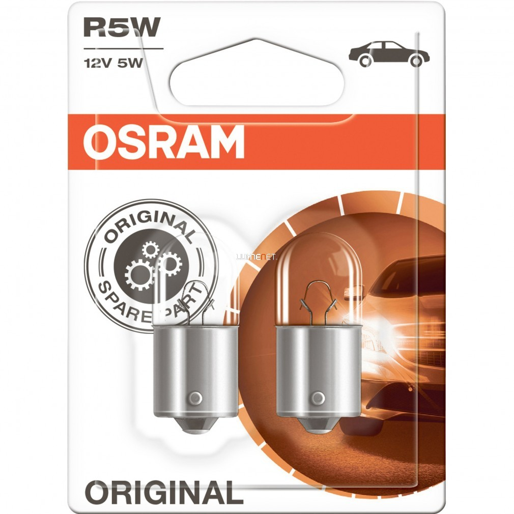 Osram Original Line 5007-02B R5W 12V BA15s jelzőizzó 2db/bliszter