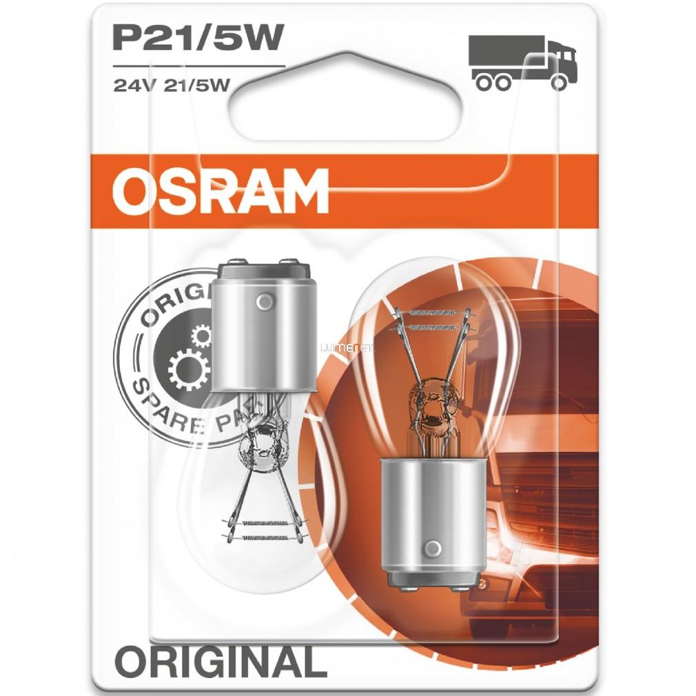 Osram Original Line 7537 P21/5W 24V jelzőizzó 2db/bliszter