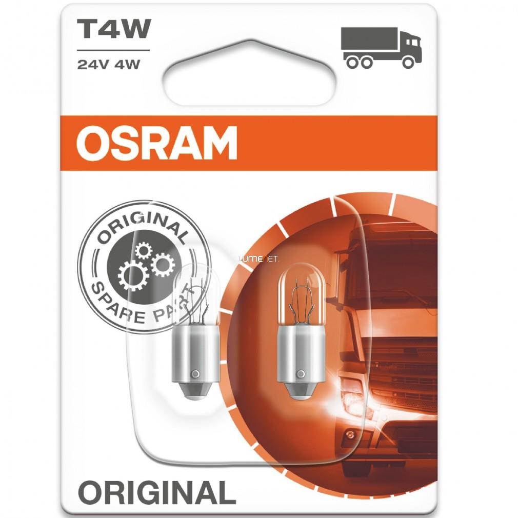 Osram Original Line 3930 T4W 24V jelzőizzó 2db/bliszter