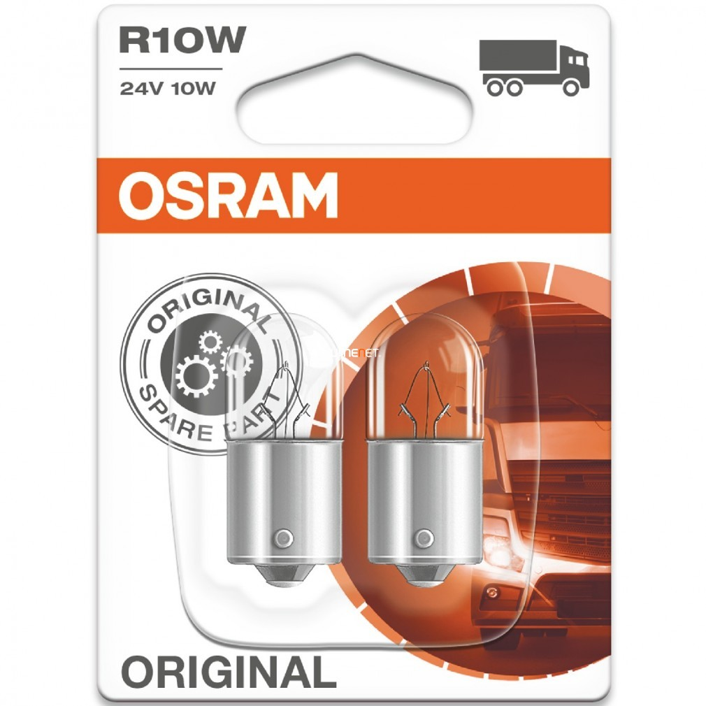 Osram Original Line 5637 R10W 24V jelzőizzó 2db/bliszter