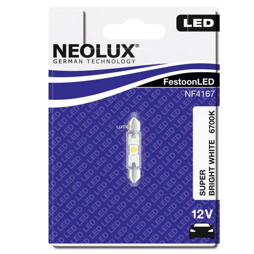 Neolux NF4167 6700K 41mm szofita LED
