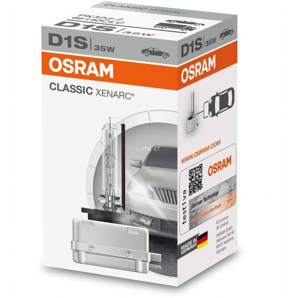Osram Xenarc Classic 66140 D1S xenon lámpa - 2 év garancia