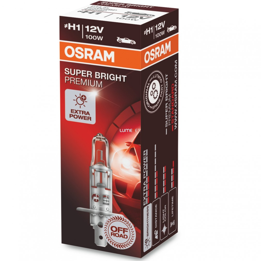 Osram Offroad Super Bright Premium 62200SBP H1