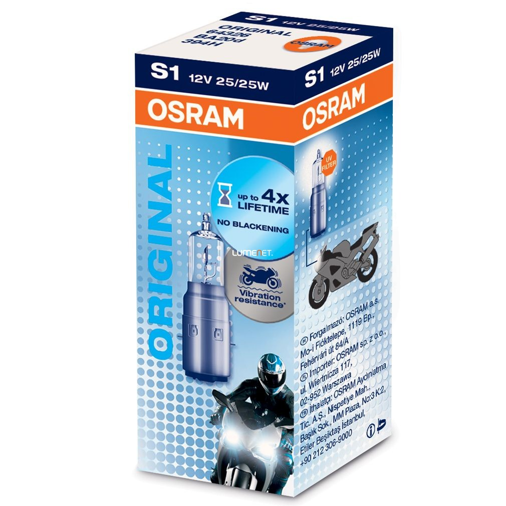 OSRAM ORIGINAL S1 64326 25/25W dobozos