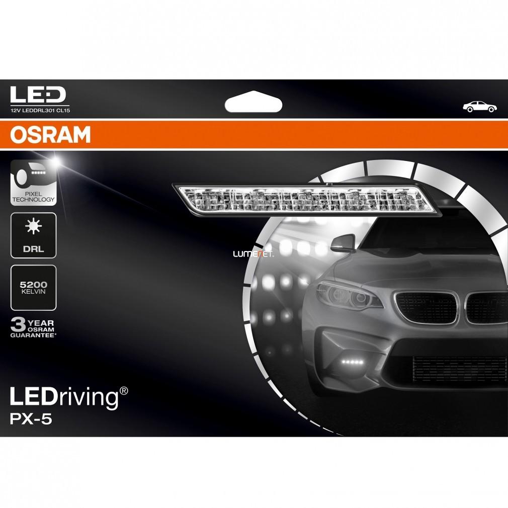 Osram LEDriving® LED DRL 301 PX-5 CL15 nappali menetfény szett