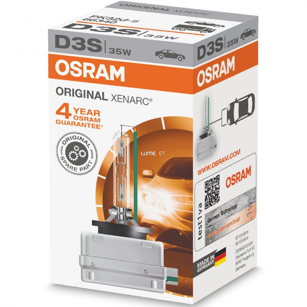 Osram Xenarc Original 66340 D3S xenon lámpa