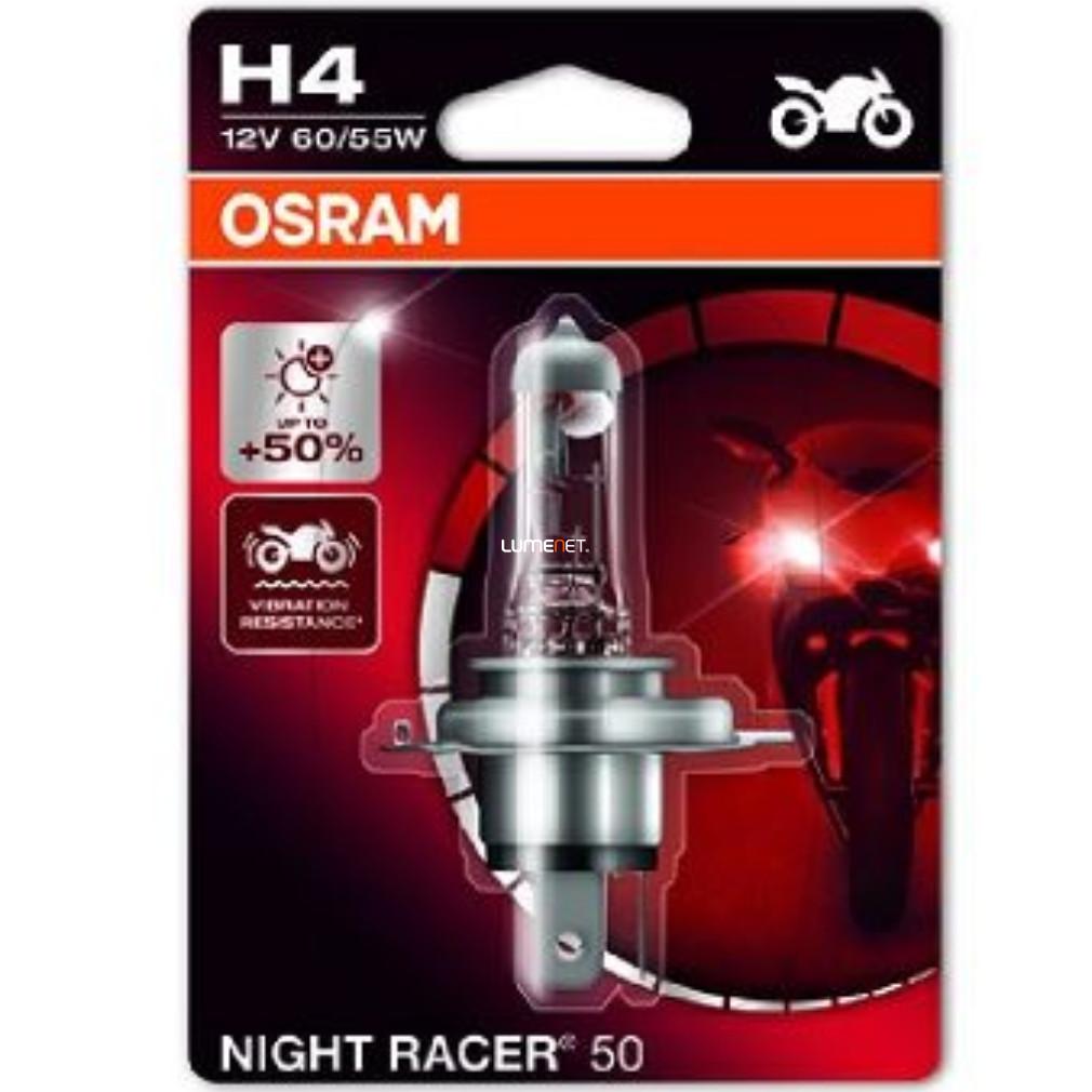 Osram Night Racer 50 64193NR5-01B H4 +50% bliszter