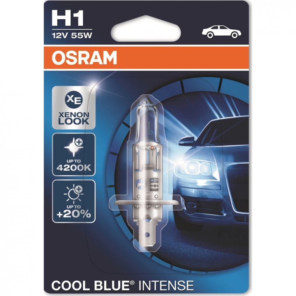 Osram Cool Blue Intense 64150CBI-01B H1 bliszter