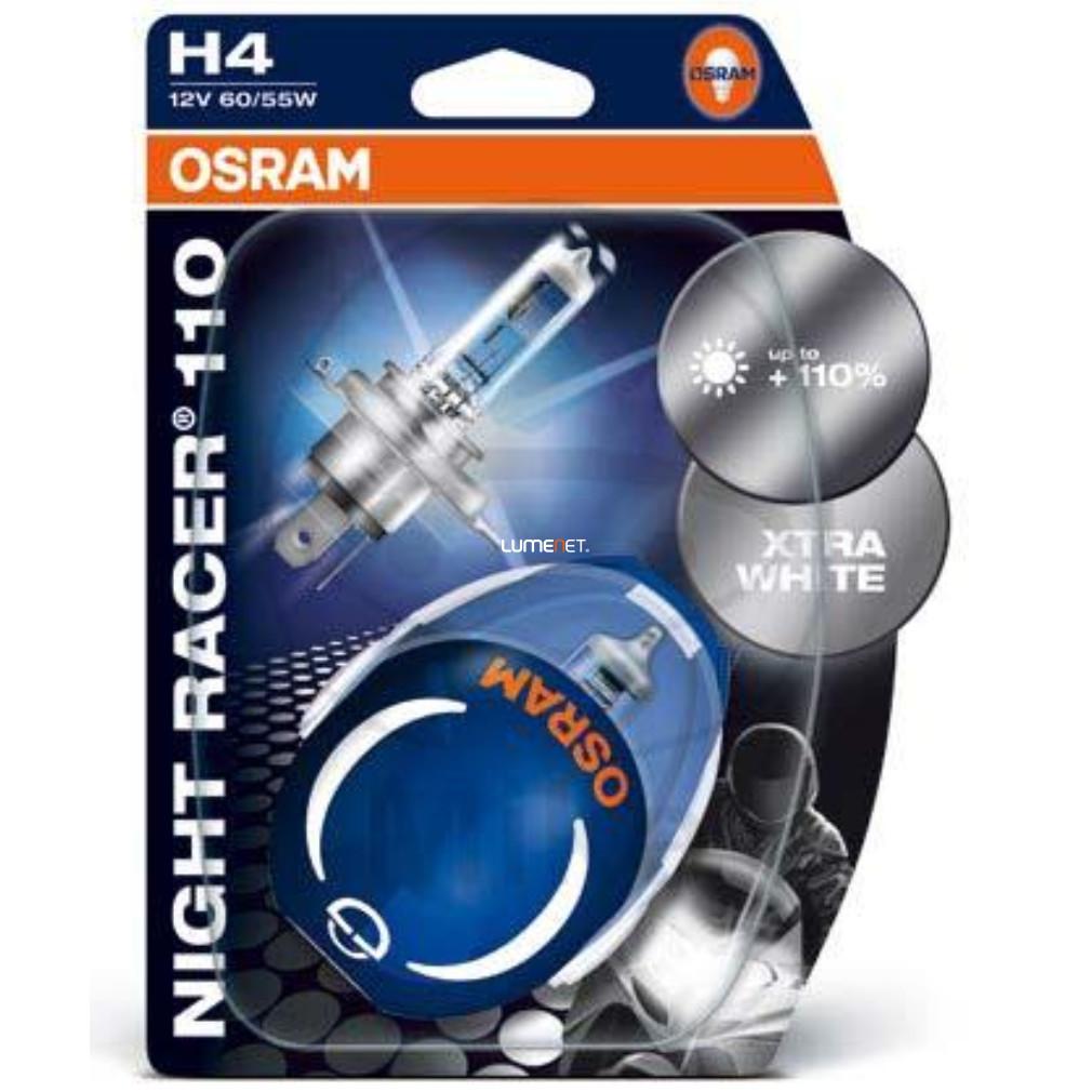 Osram Night Racer 110 64193NR1-02B H4 2db/bliszter