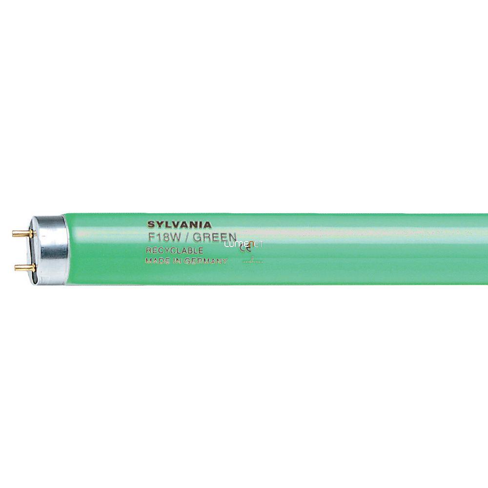SYLVANIA F 18W/T8/R GREEN/zöld 0002562 598mm