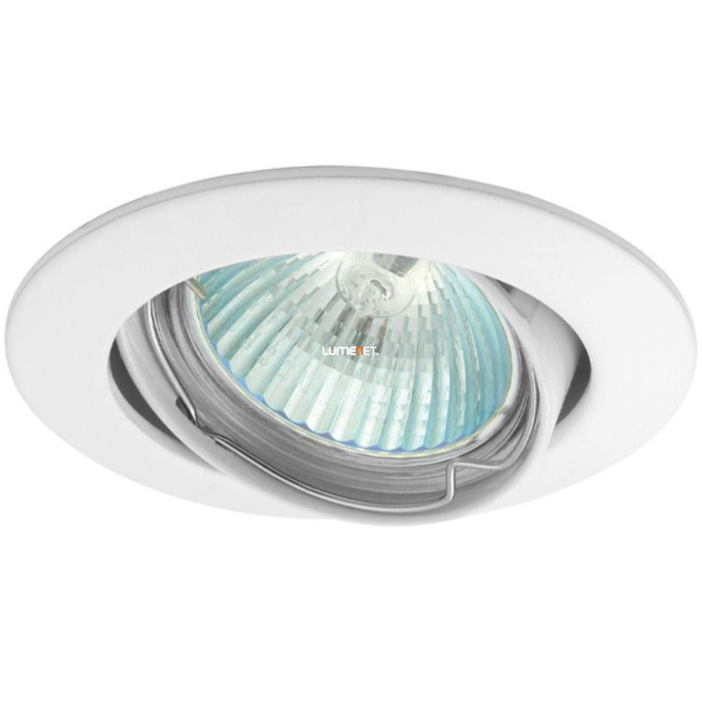 KANLUX VIDI CTC-5515-W Gx5,3 Billenthető Süllyesztett Spot alumínium ház, fehér
