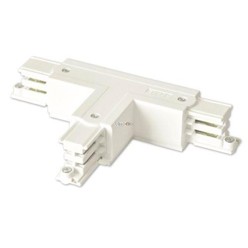 NORDIC GLOBAL TRAC XTS 39-3, 3 fázisú fordított T alakú sínösszekötő, fehér