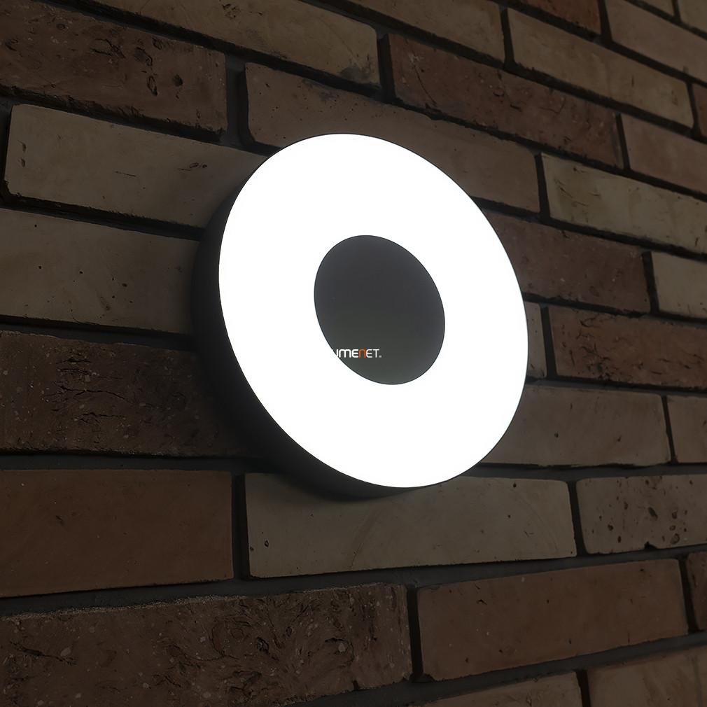 LUTEC 3481L-3K SI UBLO 11W LED IP54 fali és mennyezeti ezüst kültéri lámpa