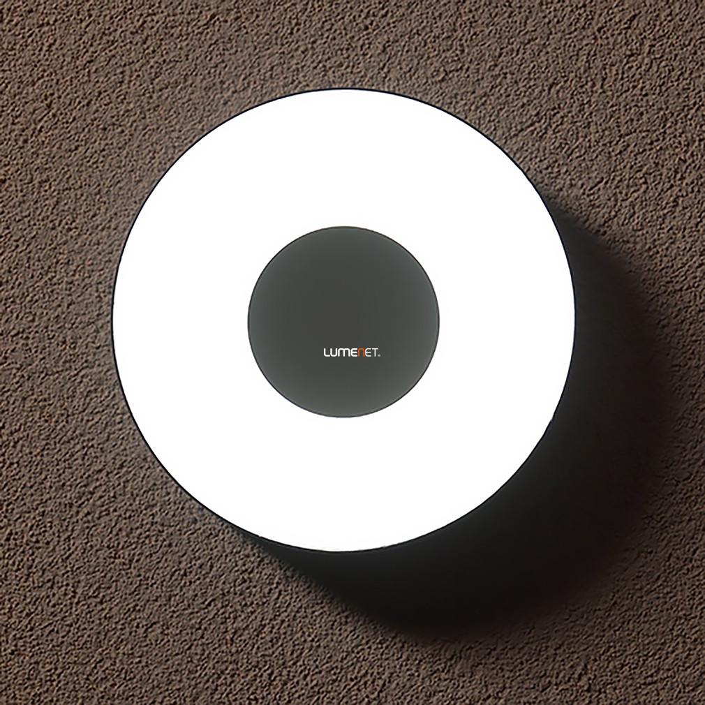 LUTEC 3481S-3K SI UBLO 6,3W LED IP54 fali és mennyezeti ezüst kültéri lámpa